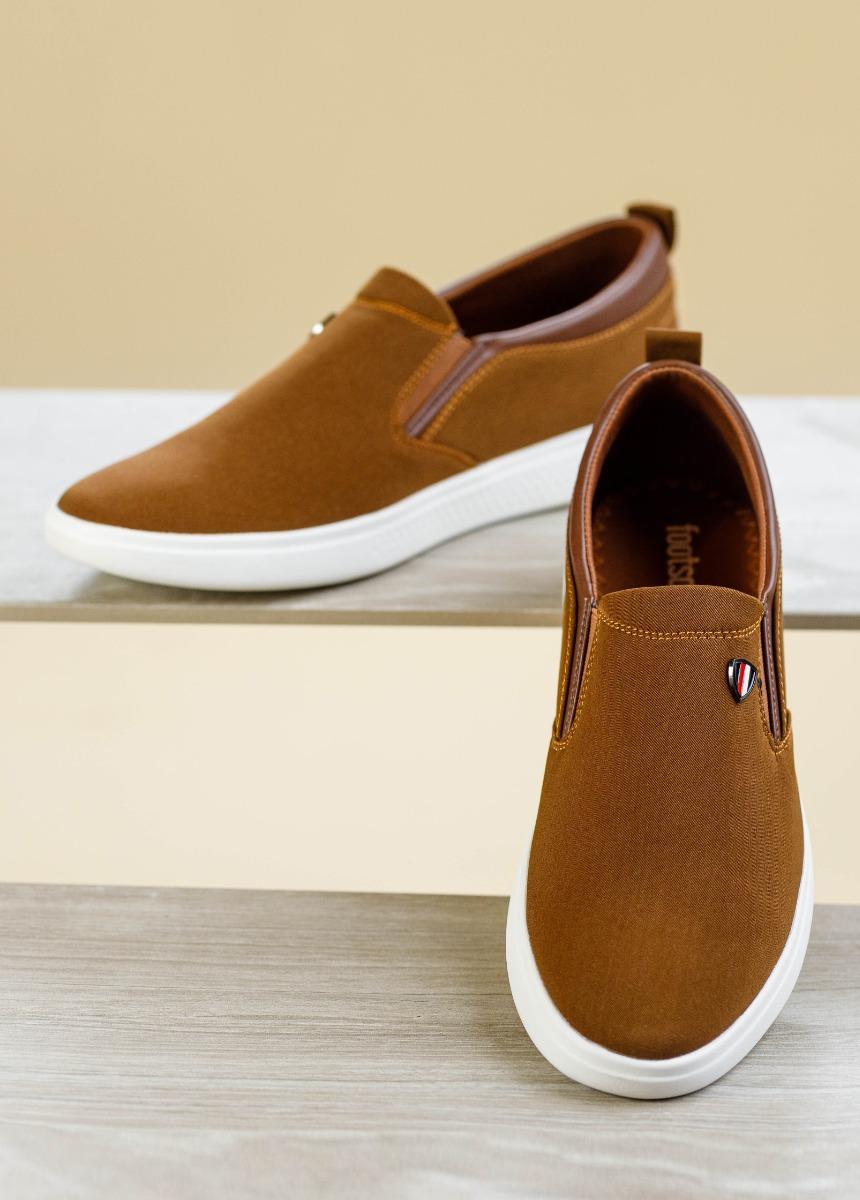 Men Brown Sneakers