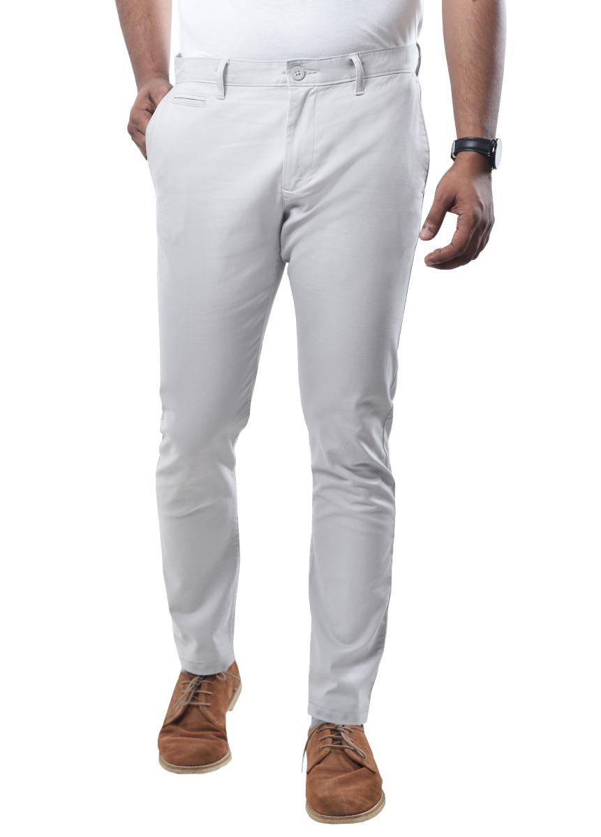 Men's Chino Pant – Light Grey