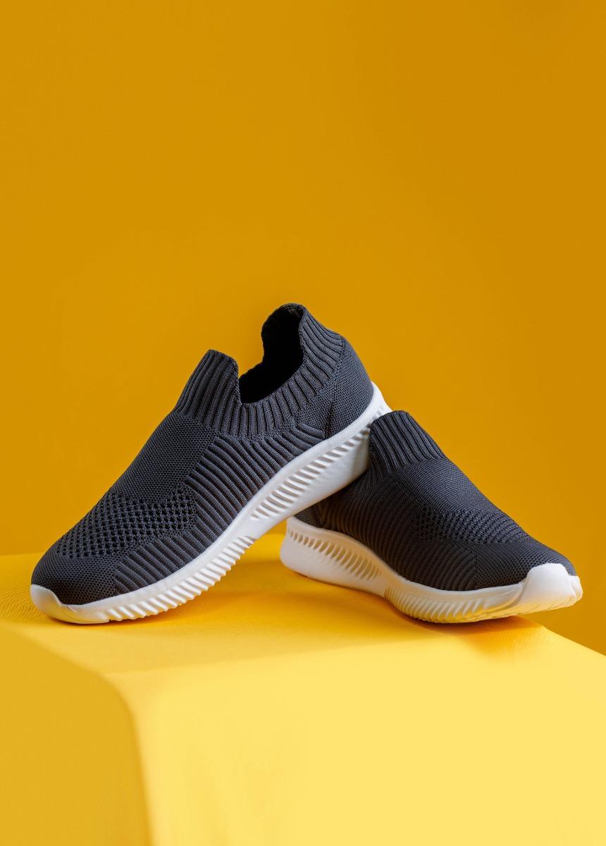 Men Gray Sneakers