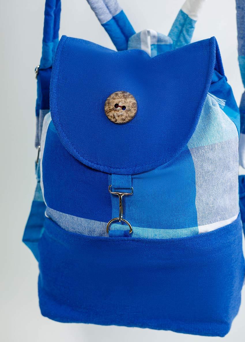 Check Design Backpack