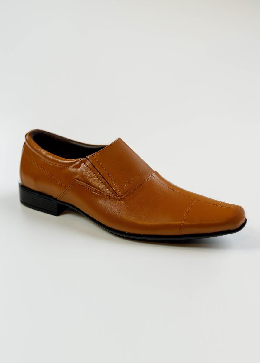 Men Tan Brown Formal Shoes