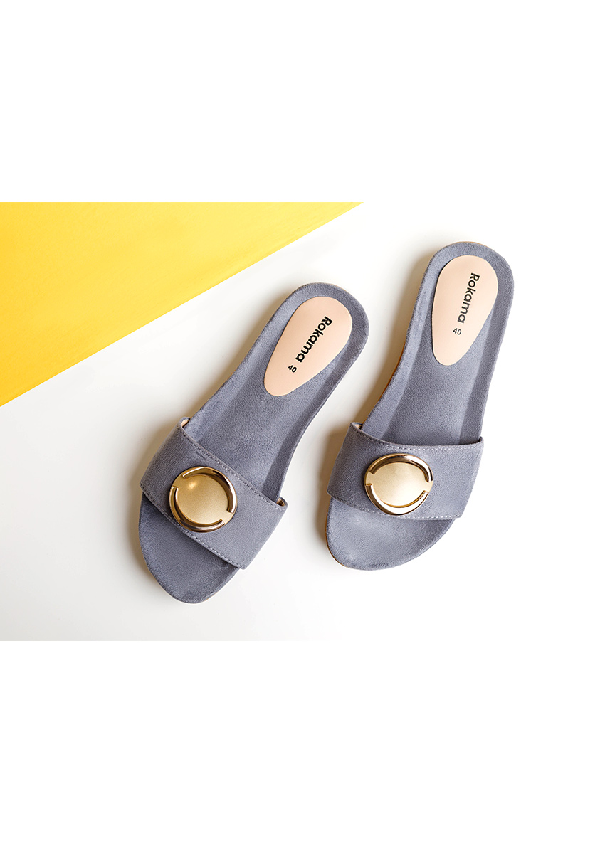 Women Open Toe Flats
