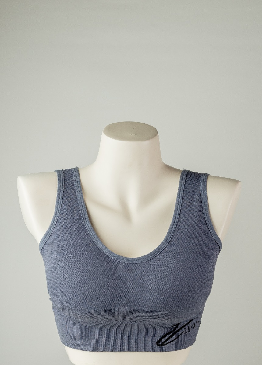 Women's Anchor Ash  Support Padded Sports Bra