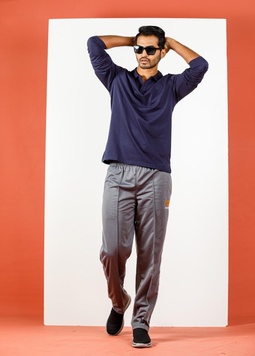 Men's Ash Solid  Track pants