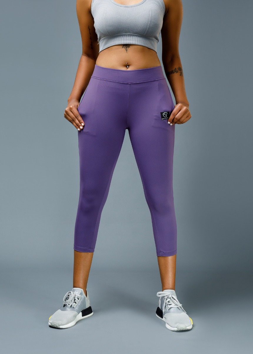 Women's Royal Purple  Solid Tights