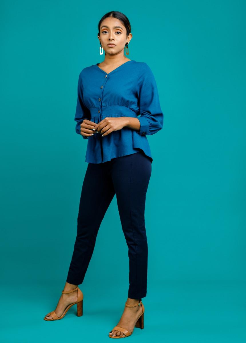 Women's Premium Legging – Navy