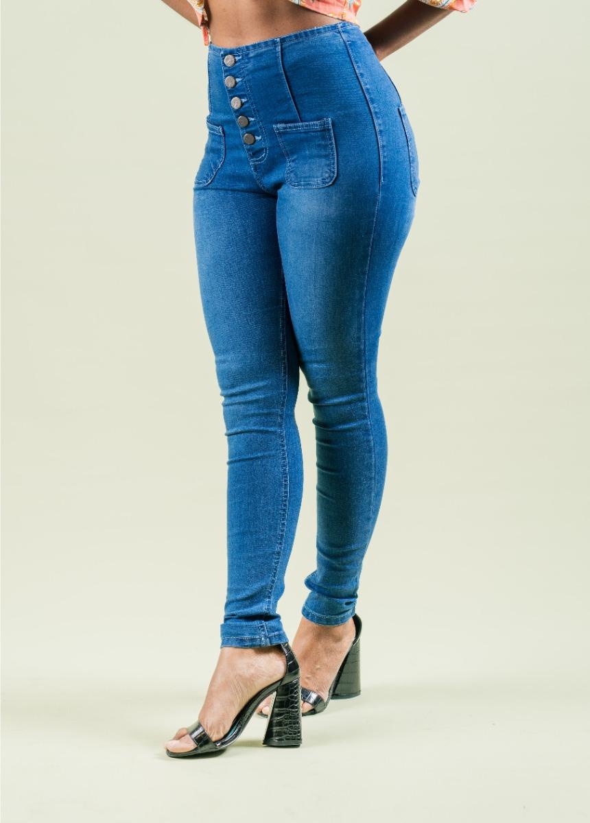 Women Blue Slim Fit High Rise Jeans