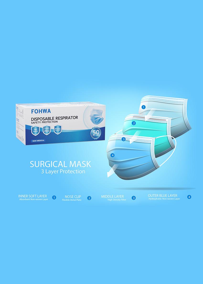 Disposable Respirator Safety Protection Face Mask