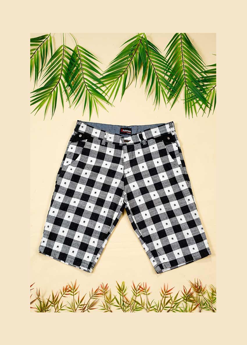 Checked Regular Fit Regular Shorts