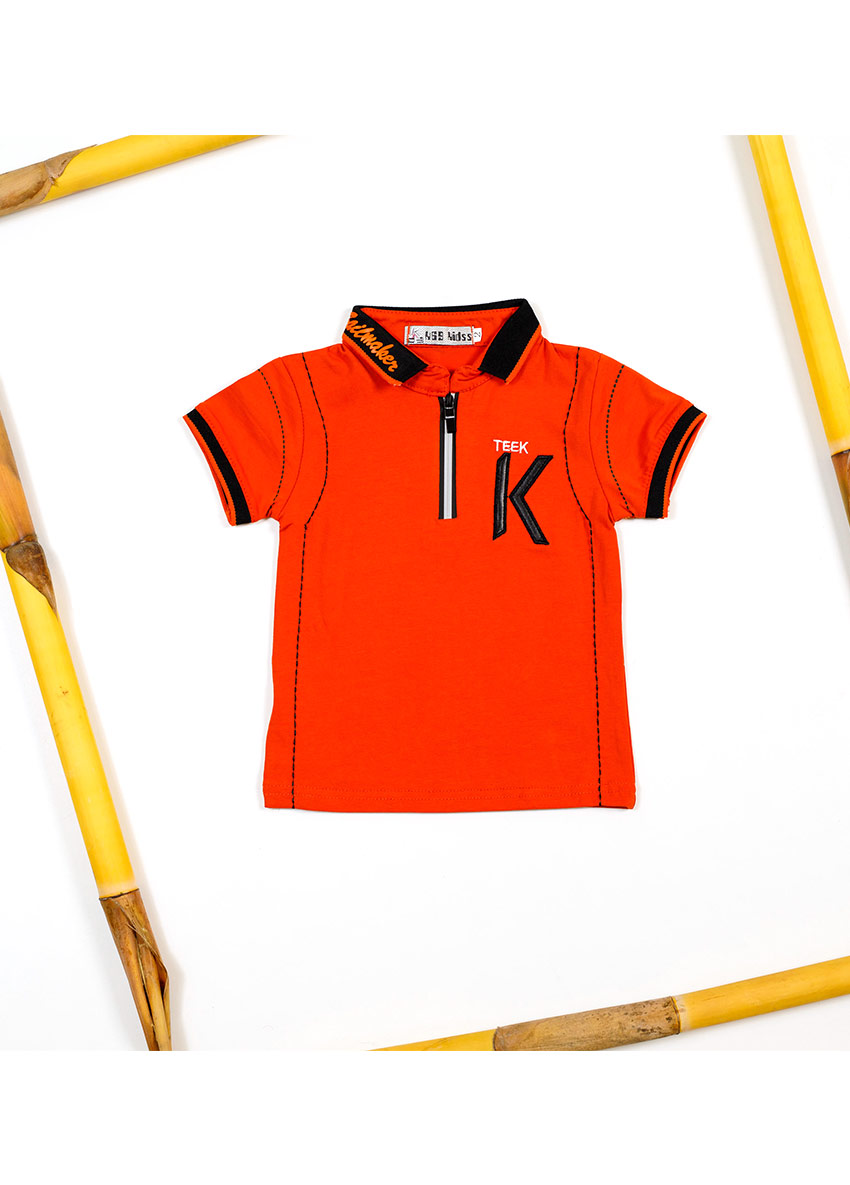 Polo Collar T-shirt