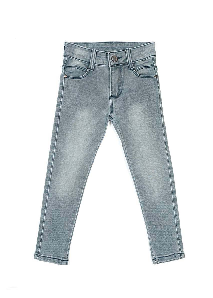 Girls Ash Mid-Rise Clean Look Stretchable Jeans