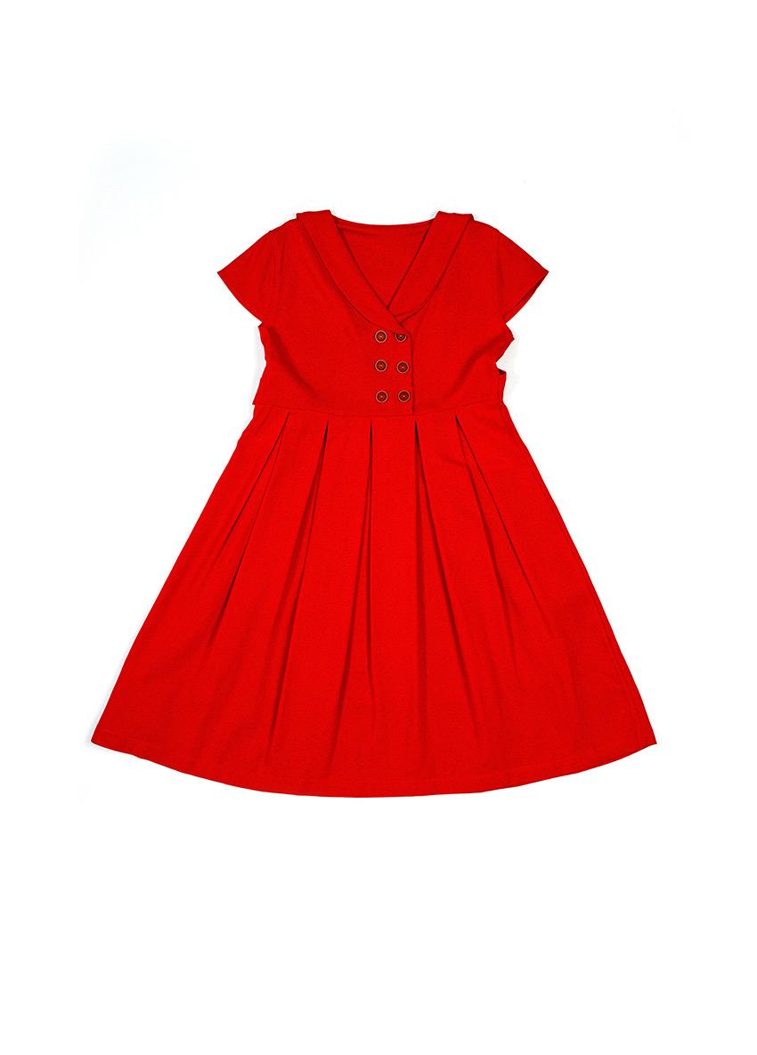 Girls Maroon Dress