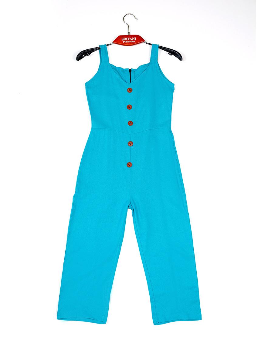 Girls Basic Jumpsuit