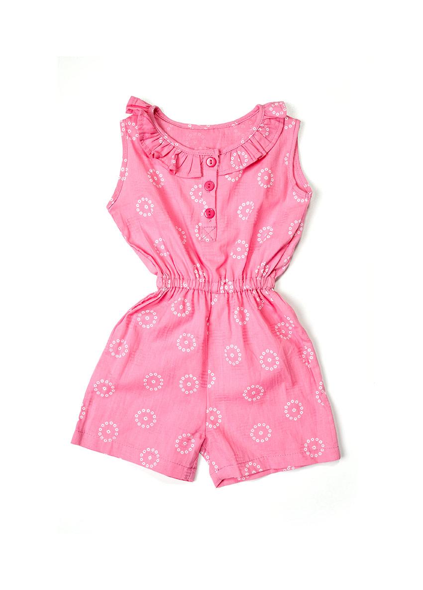 Girls Flora Basic Jumpsuit