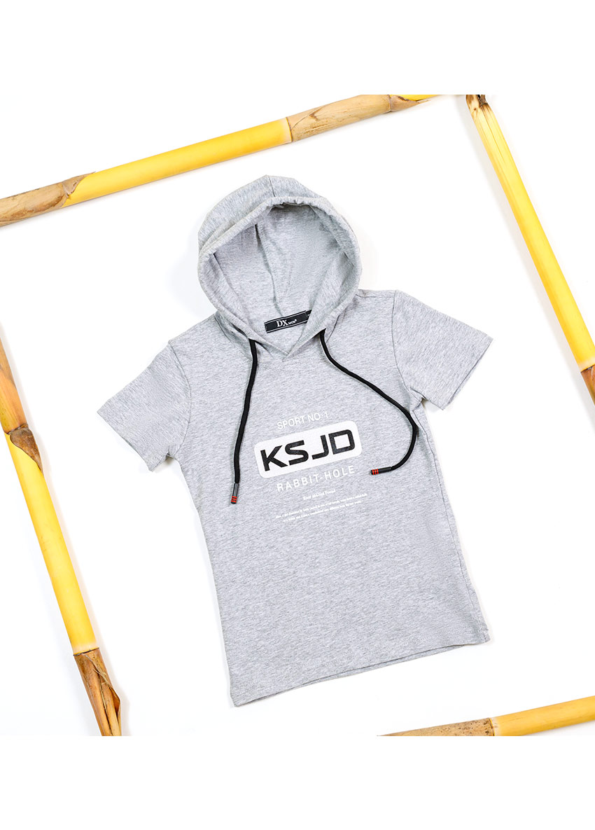 Printed Hood T-shirt