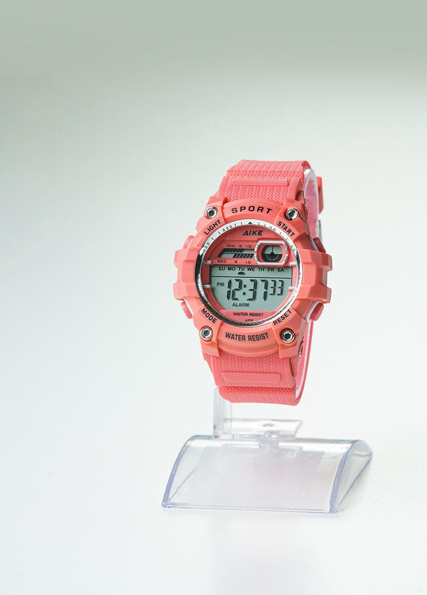 Unisex Kids Pink Digital Watch