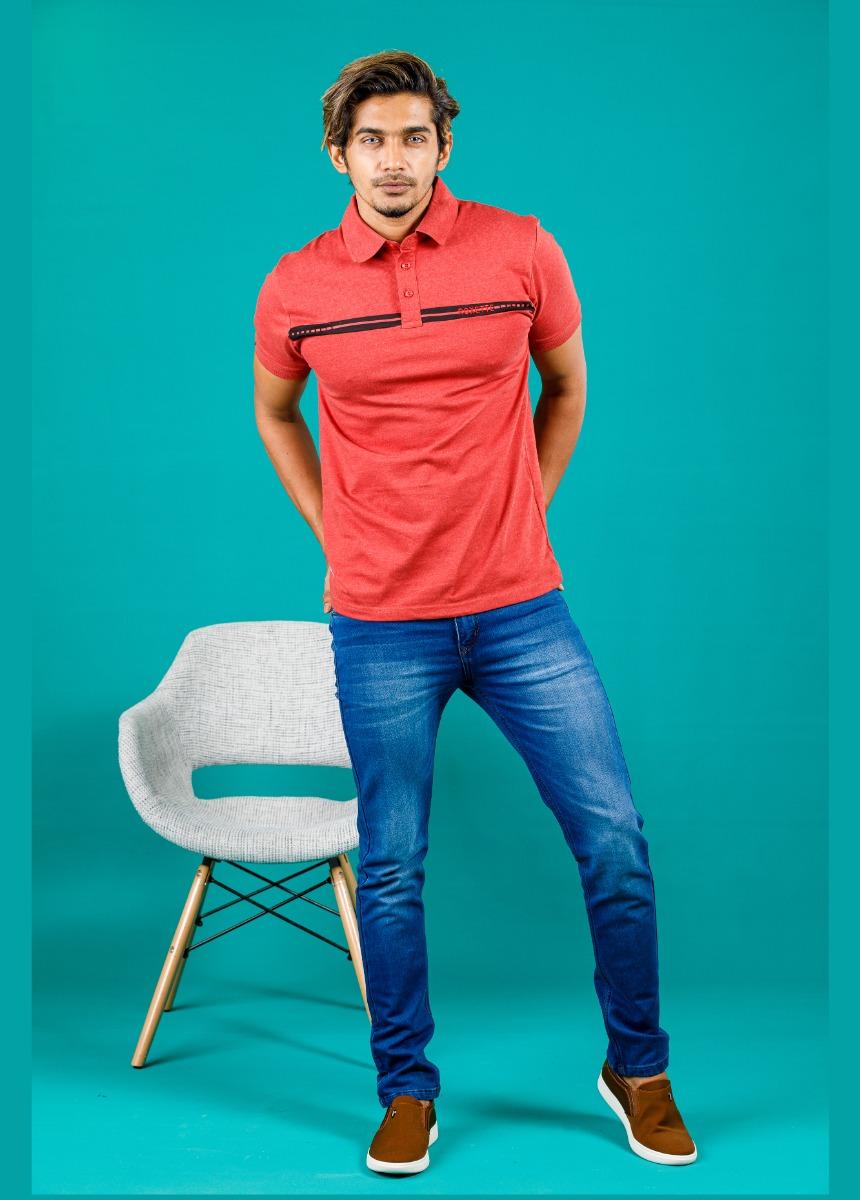 Men Blue Fade Stretchable Jean